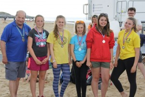2nd place in the South East Regional Beach Lifeguard competition
