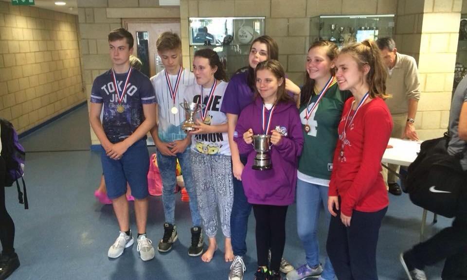 Kent Ladies win RLSS UK South East Region Teams Lifesaving Championships 2015